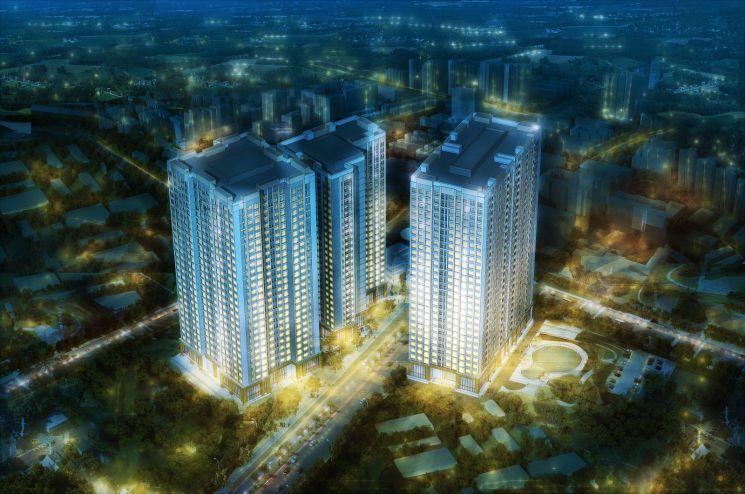 Bán căn 3 phòng ngủ tòa CT1B chung cư Panorama Hoàng Mai