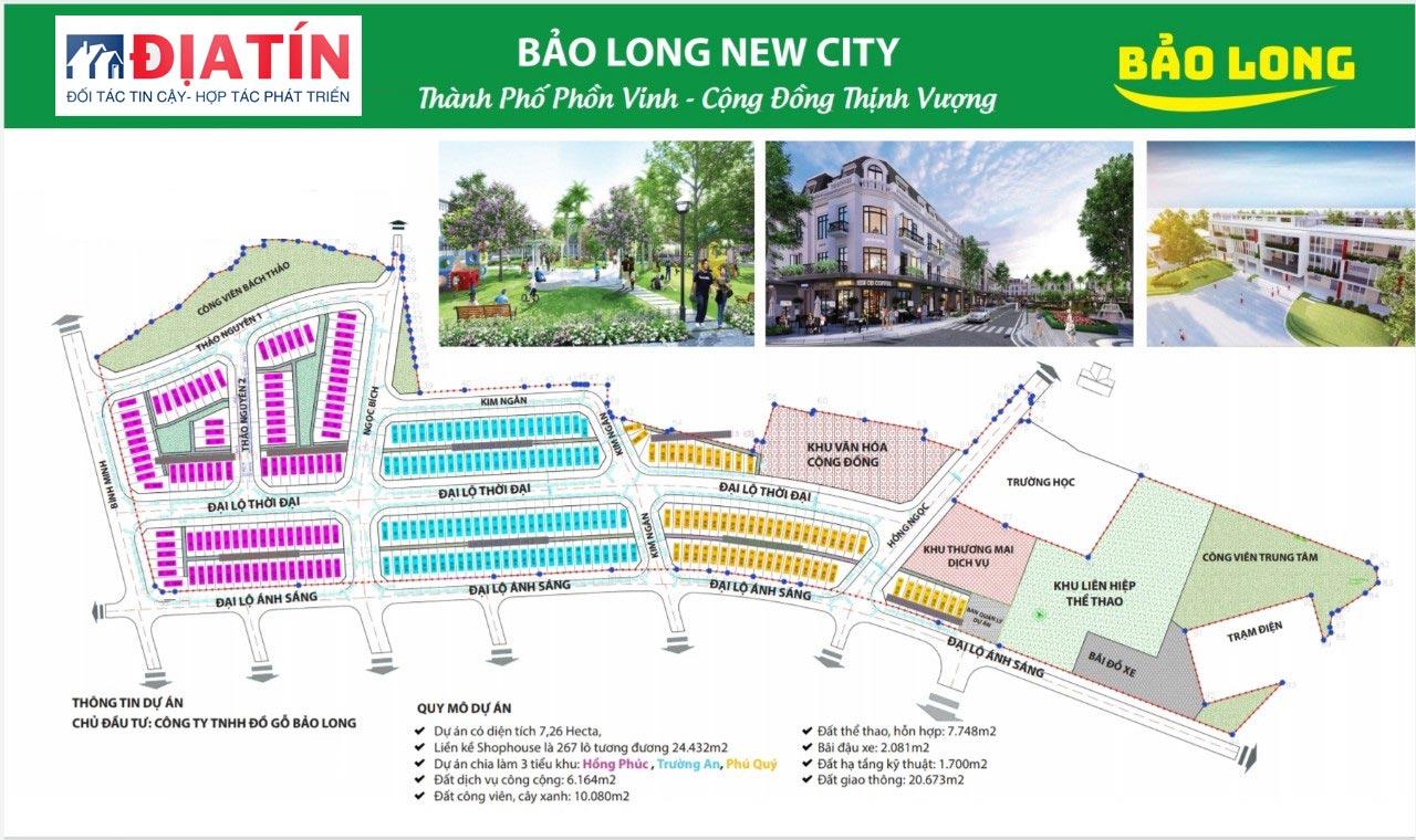 Dự án khu đô thị Bảo Long New City