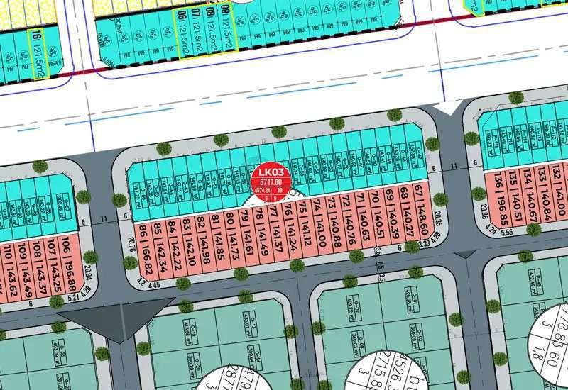 Shophouse Lk03 dự án Từ Sơn Garden City