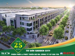 Bán LK16 dự án Từ Sơn Garden City