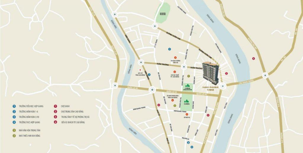Shophouse Thương mại chung cư Hà Nội phonix Cao Bằng
