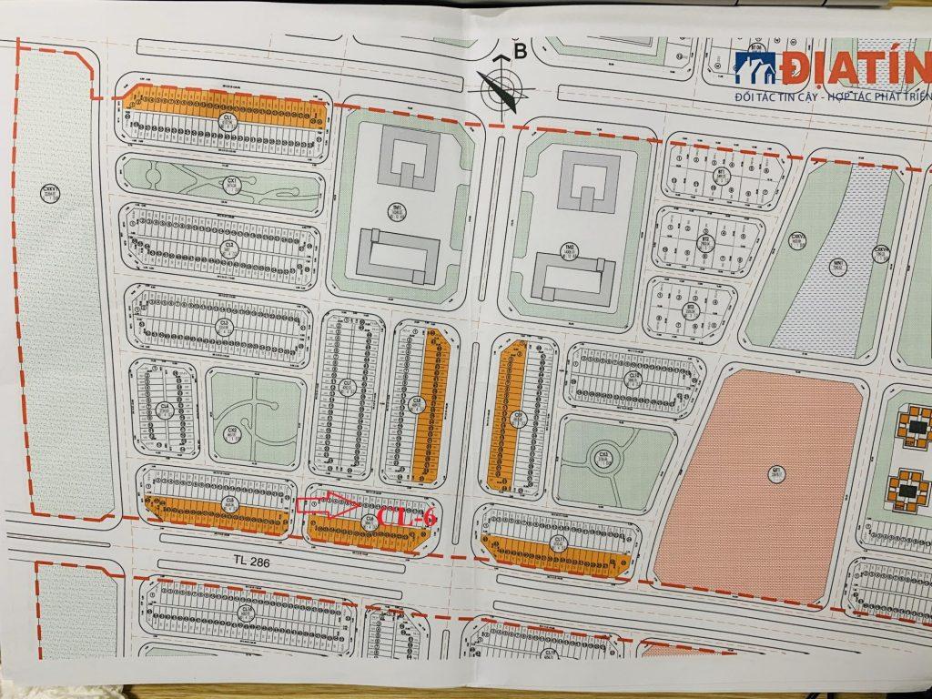 Bán suất ngoại giao shophouse CL6 khu đô thị Kim đô